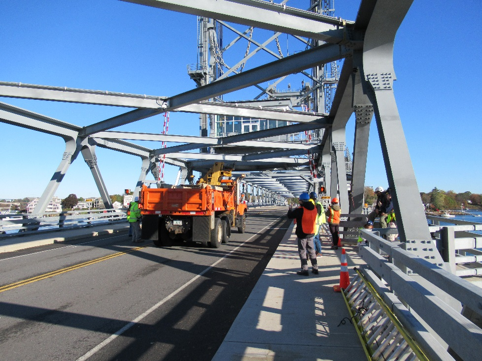 Load test was conducted on the Memorial Bridge